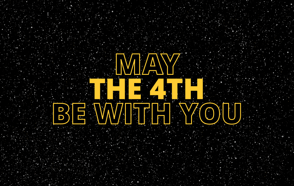 Penteados de Star Wars Day May the Fourth be With you