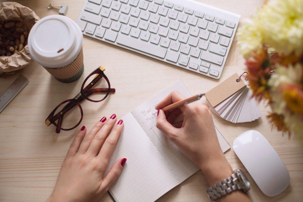 noiva organizada lista de tarefas
