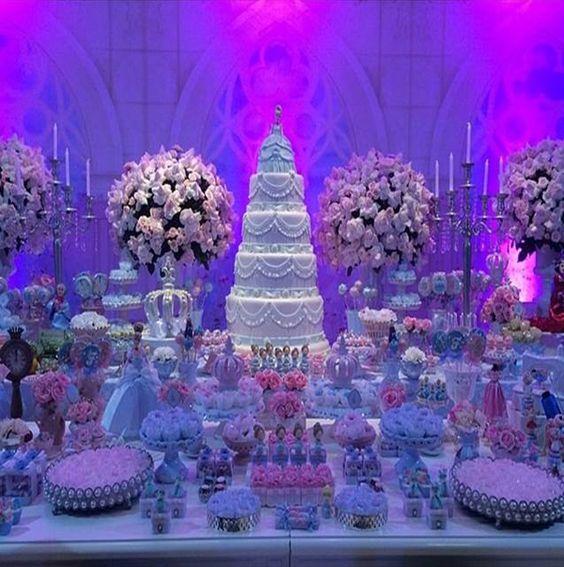 festa luxuosa
