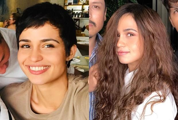 nanda costa - antes e depois mega hair