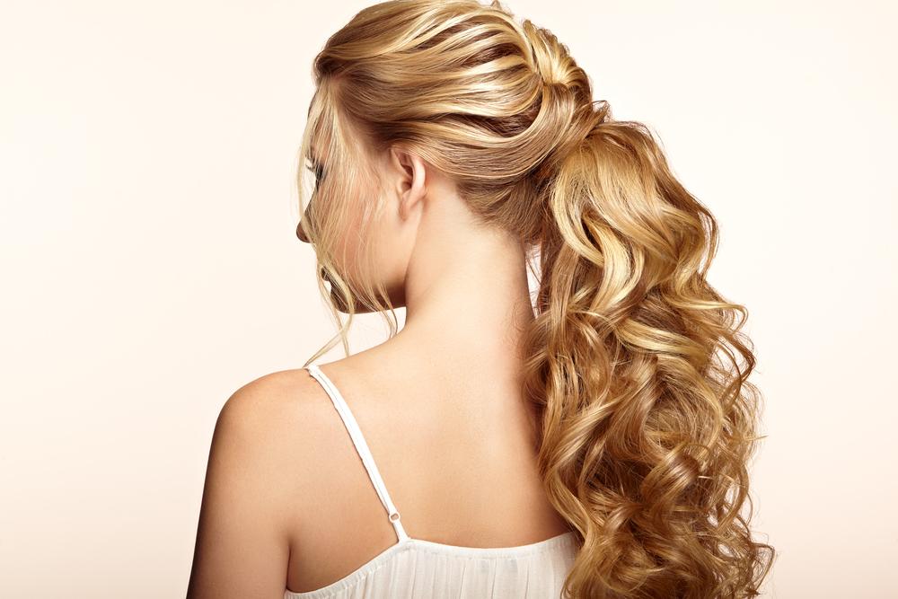 mega hair cabelo comprido penteado